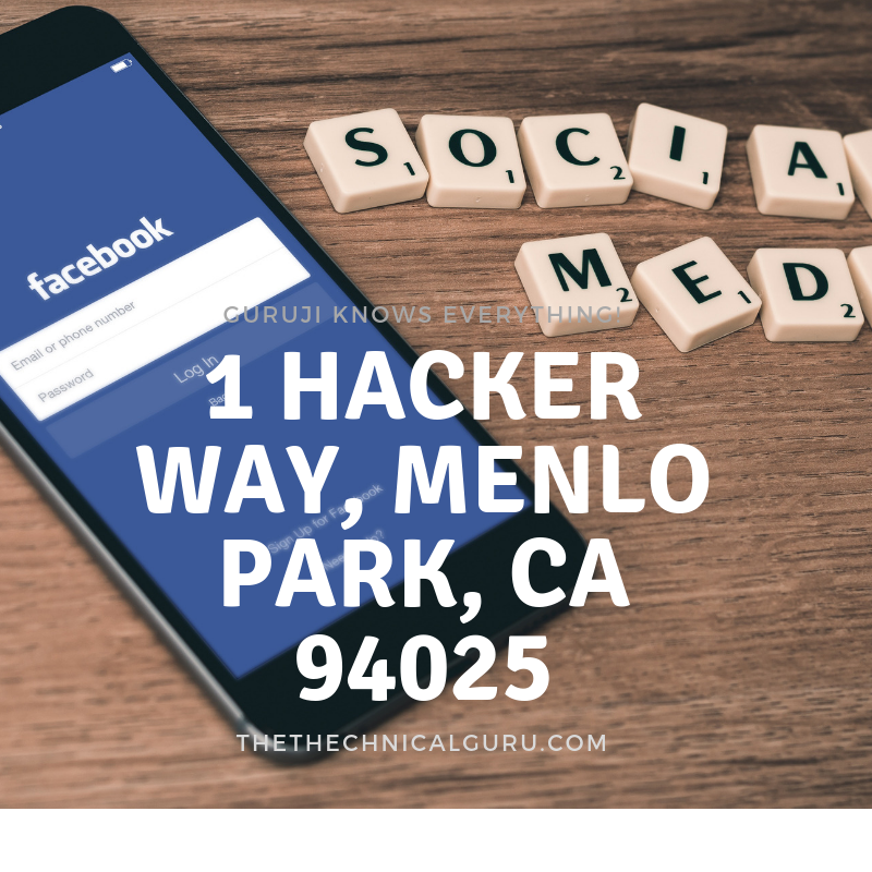 1 hacker way, menlo park, ca 94025