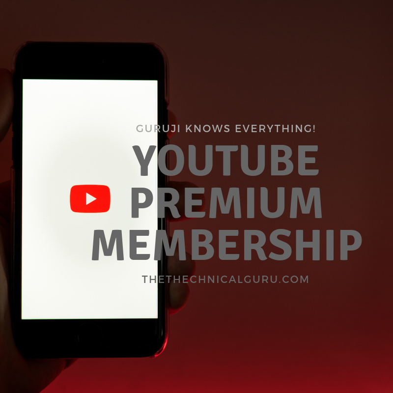 YouTube Premium Free Membership