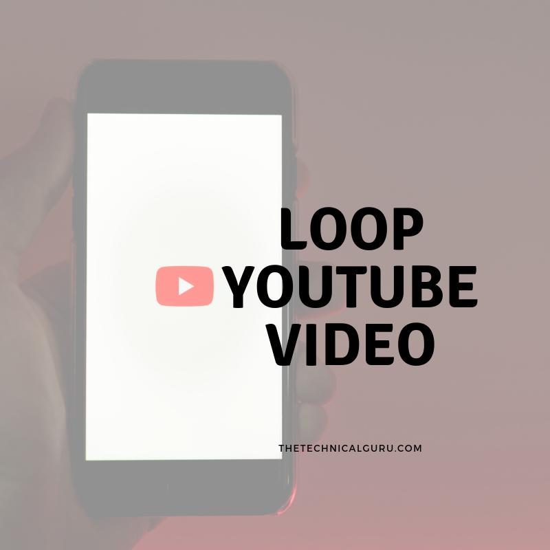 loop youtube video