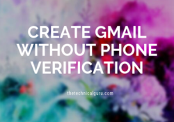 create gmail without phone verification